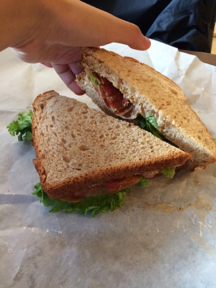 It's always fun to stop in before a hike and bring with you the sandwich that's dedicated to the mountain you'll be tackling that day.