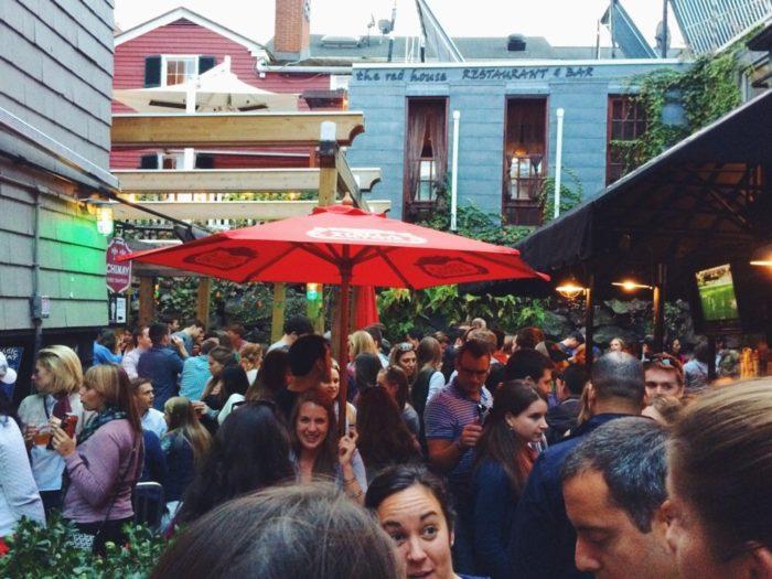 5. The Beer Garden at Charlie's Kitchen