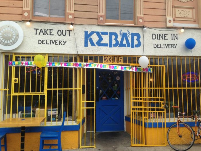 4) Kebab, 2315 St. Claude Ave.