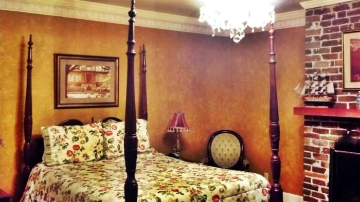 Room 204 is actually the room which used to require the waiver—Anna was said to be that frightening to guests.