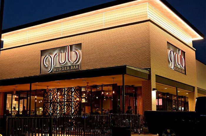 8. Grub Burger Bar, 1370 E 70th St., Shreveport