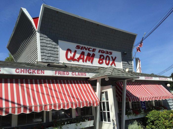 3. The Clam Box, Ipswich
