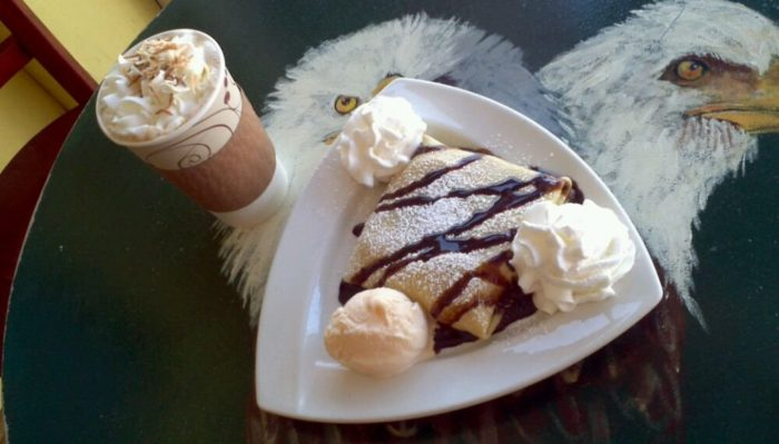If you decide to go with one of their sweet crepes, we promise you won't regret it!