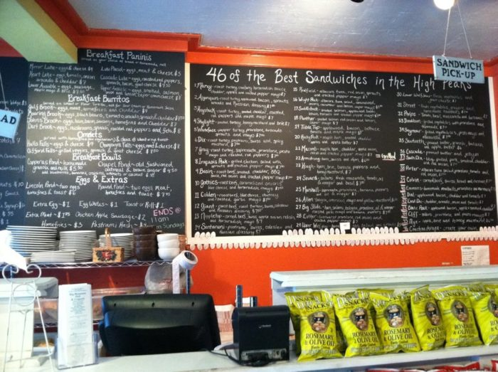 The Adirondack treasure is known for having a menu that features 46 sandwiches, all named after our high peaks!