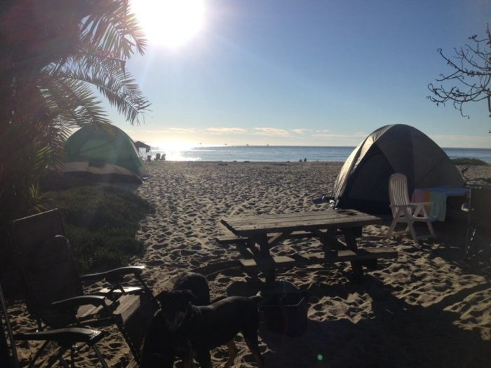 8 Spectacular Spots In Southern California Where You Can C& Right On The Beach & 8 Spots For Beach Camping In Southern California