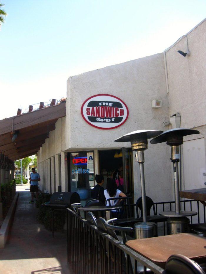 6. The Sandwich Spot --Palm Springs