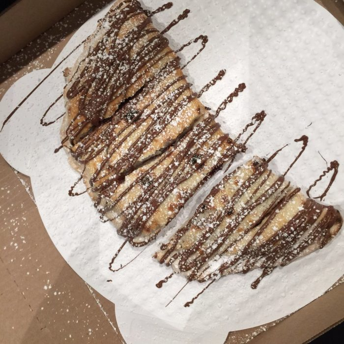 4. Nutella Calzone at Pizza 90 in Riverside