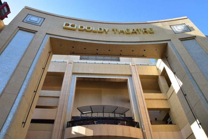 5. Dolby Theatre -- Hollywood and Highland