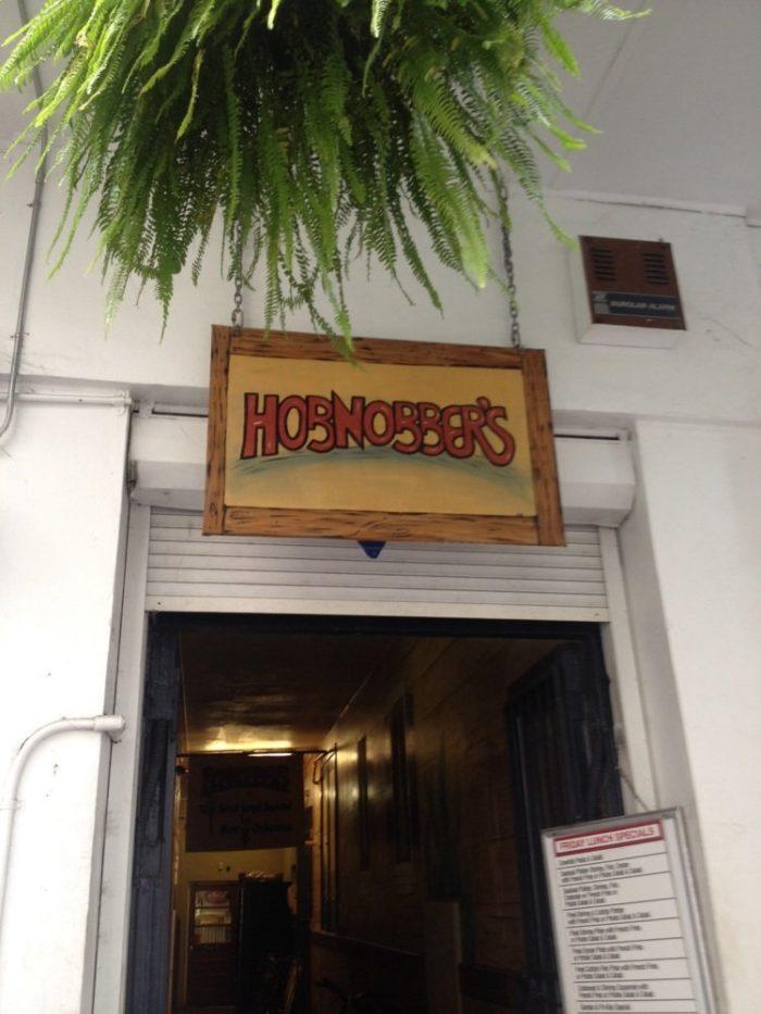 3. Hobnobber's Varieties Bar, 139 Carondelet St., New Orleans
