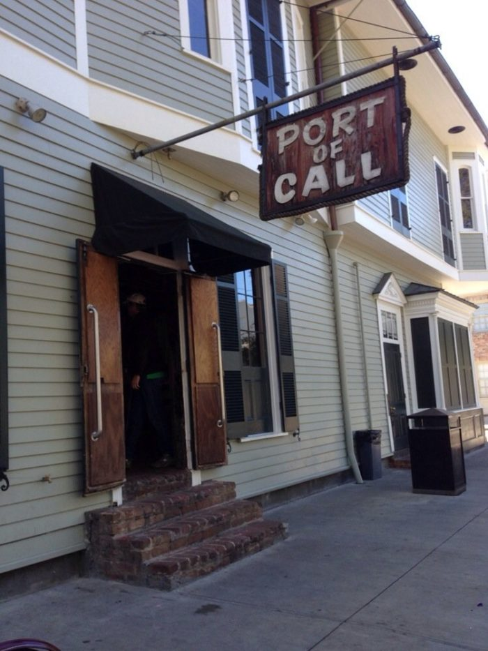 5) Port of Call, 838 Esplanade Ave.