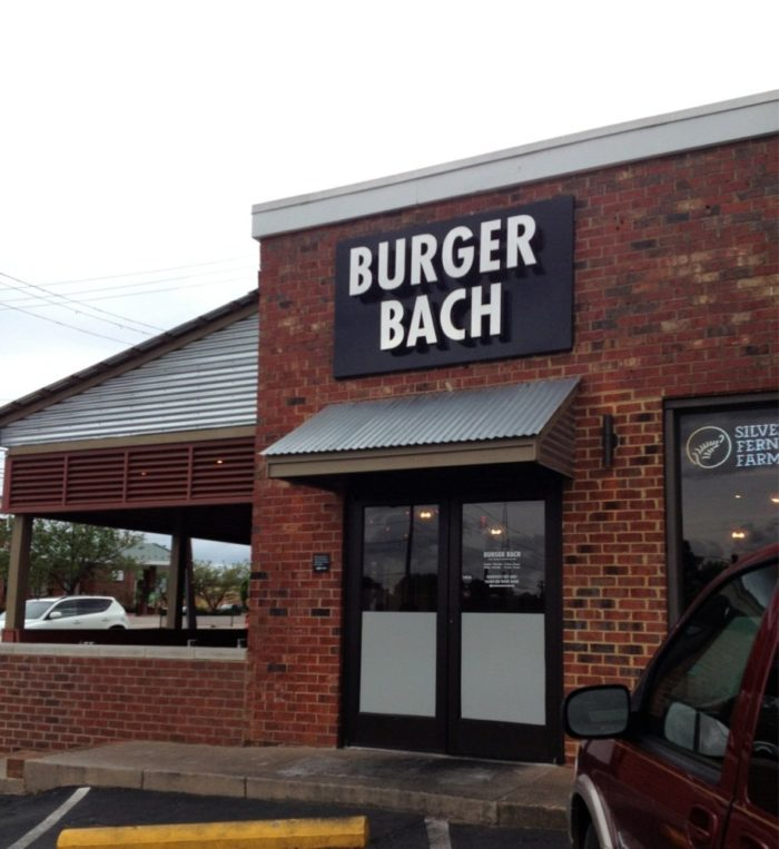 4. Burger Bach (Richmond)