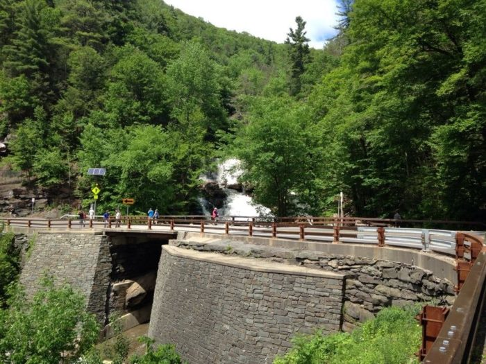 Taking you along the winding Catskill Mountains Scenic Byway, the drive to get to this popular attraction is nothing short of picturesque.