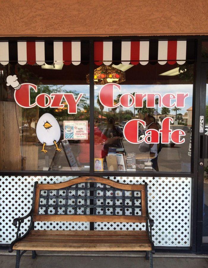 3. Cozy Corner Cafe, Mesa
