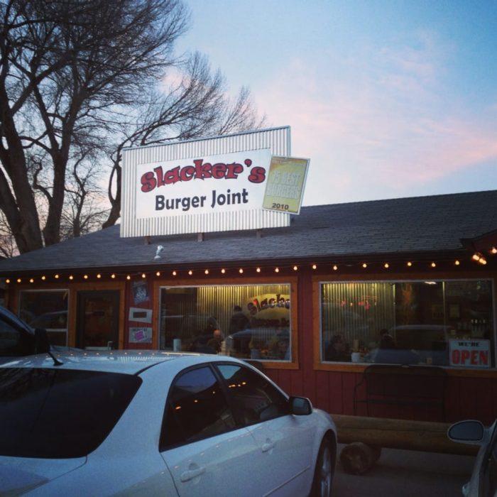 1. Slackers Burger Joint, Torrey