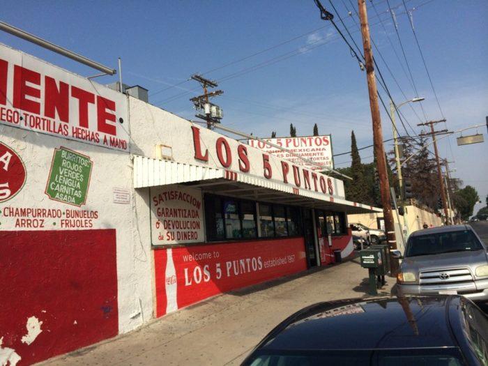 5. Los 5 Puntos -- Los Angeles