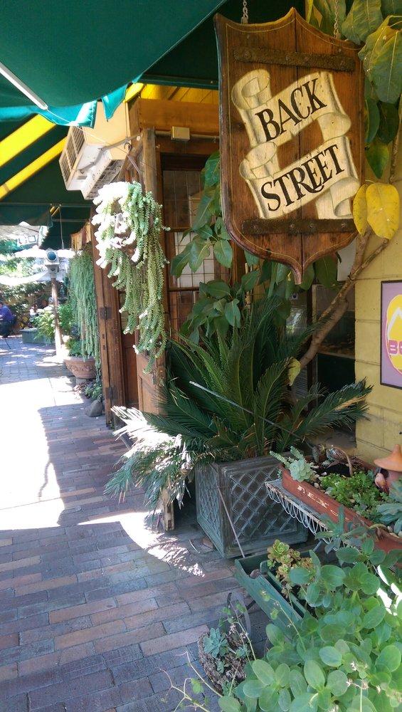 1. Backstreet Restaurant -- Riverside