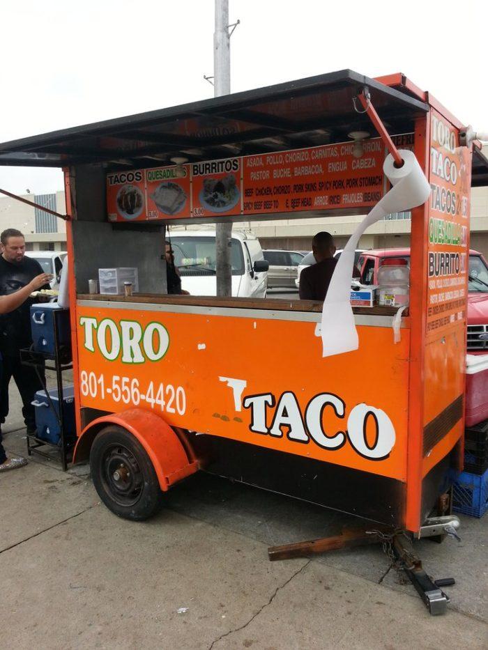2. Tacos El Toro, Salt lake City