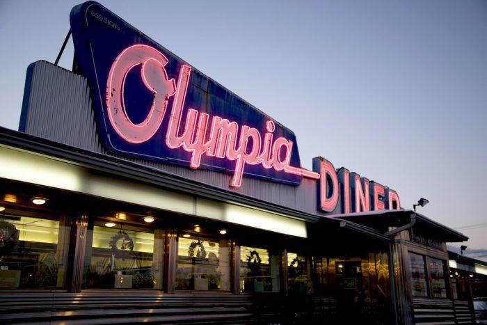 5. Olympia Diner (Newington)