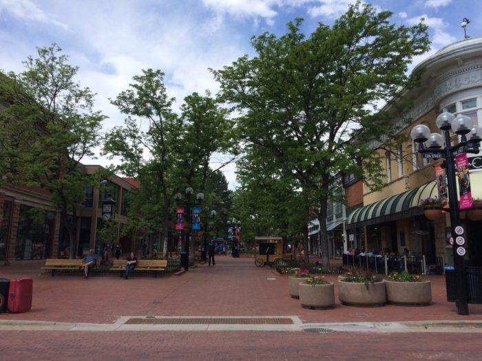 9. Pearl Street Mall (Boulder)