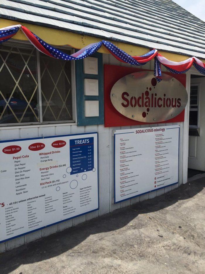 7. Sodalicious, Multiple Locations