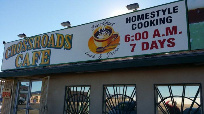 2. Crossroads Cafe, Parker