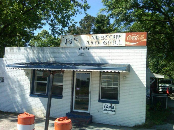 2. B's Barbecue, Greenville