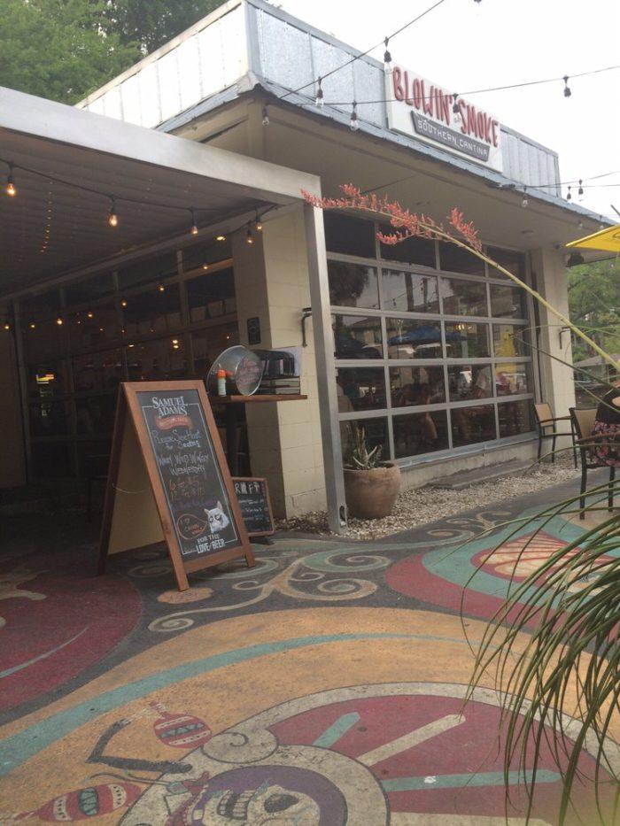 3. Blowin' Smoke Southern Cantina— 1611 Habersham St, Savannah, GA 31401