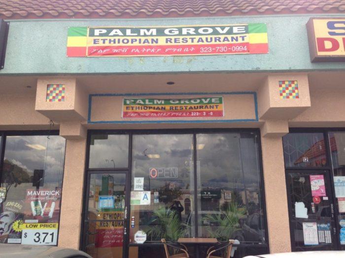 2. Palm Grove Ethiopian Restaurant -- Los Angeles