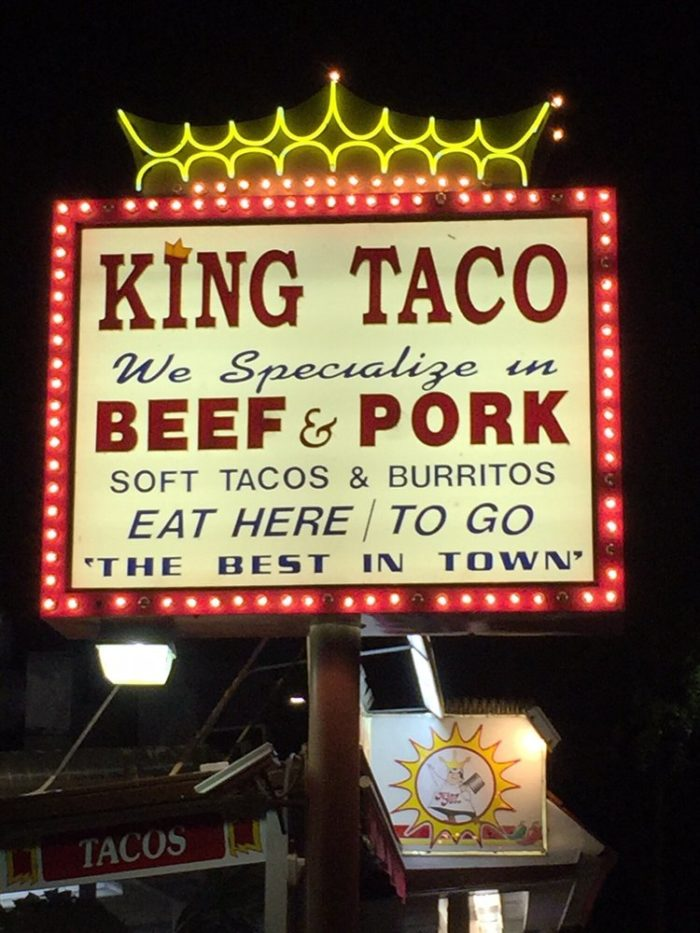8. King Taco -- Los Angeles and other SoCal locations