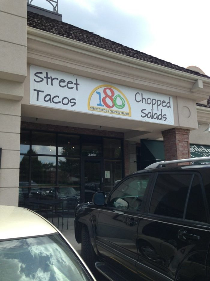 4. 180 Tacos and Global Street Eats, Provo