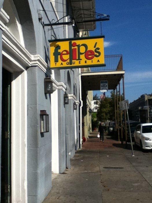 8) Felipe's, 301 N Peters St.