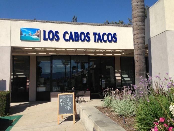 7. Los Cabos Tacos -- Riverside