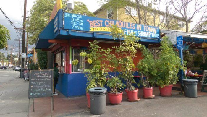 5. Tacos Delta -- Los Angeles