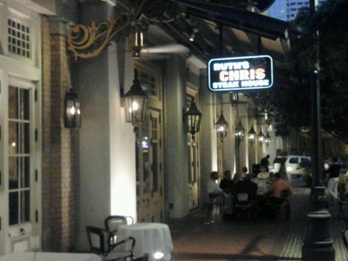 7) Ruth's Chris Steakhouse, 525 Fulton St.