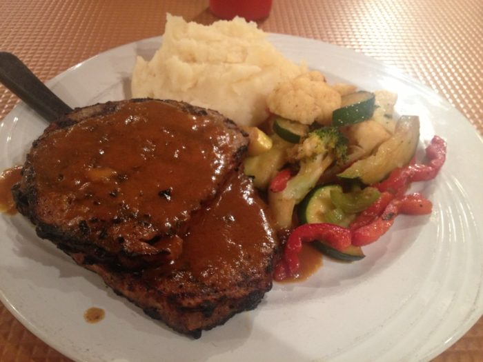 Ruth's meatloaf will melt in your mouth.