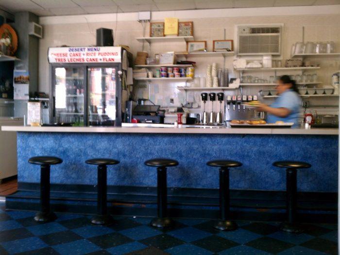 2. Four Burritos Diner (West Haven)