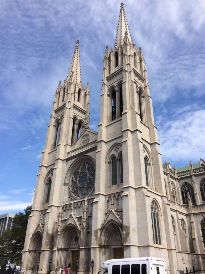 1. The Cathedral Basilica of the Immaculate Conception
