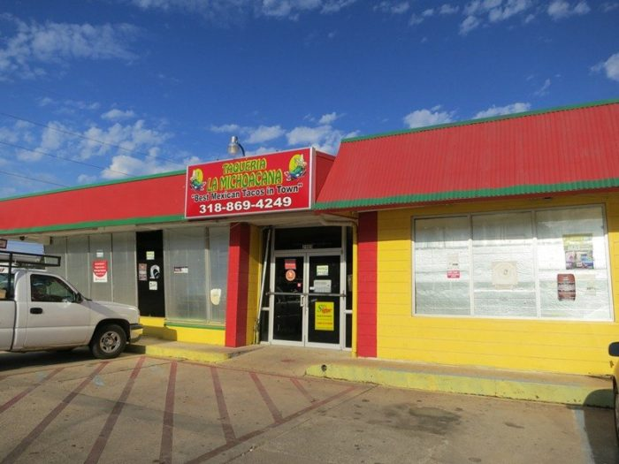 1. Taqueria La Michoacana, 2905 Youree Dr., Shreveport