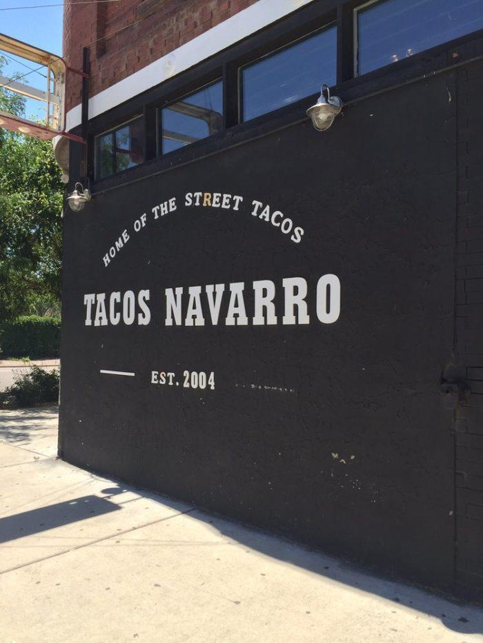 5. Tacos Navarro (Pueblo)