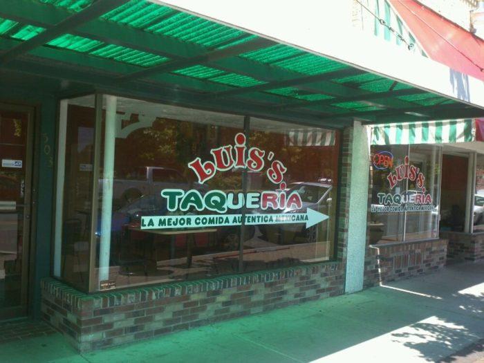 1. Luis's Taqueria, Woodburn