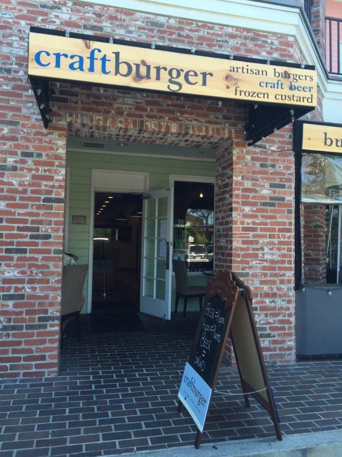 1. Craft Burger -- Carlsbad