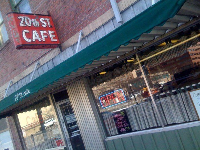 6. 20th Street Cafe