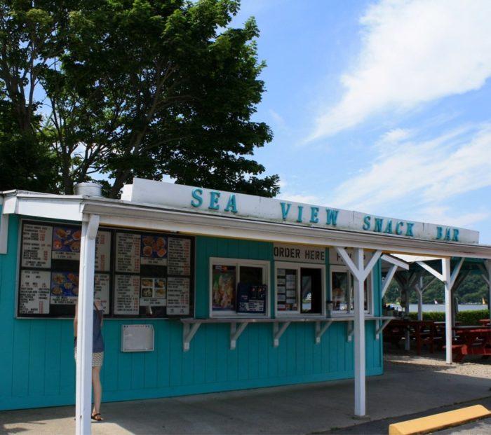 9. Sea View Snack Bar (Mystic)