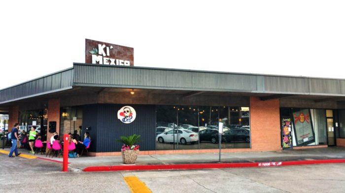 6. Ki' Mexico, 3839 Gilbert St., Shreveport