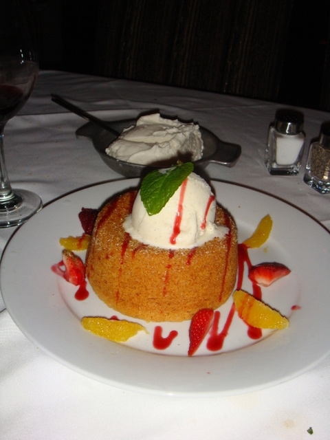 8. Butter Cake -- Mastro's Steakhouse in Costa Mesa and other locations