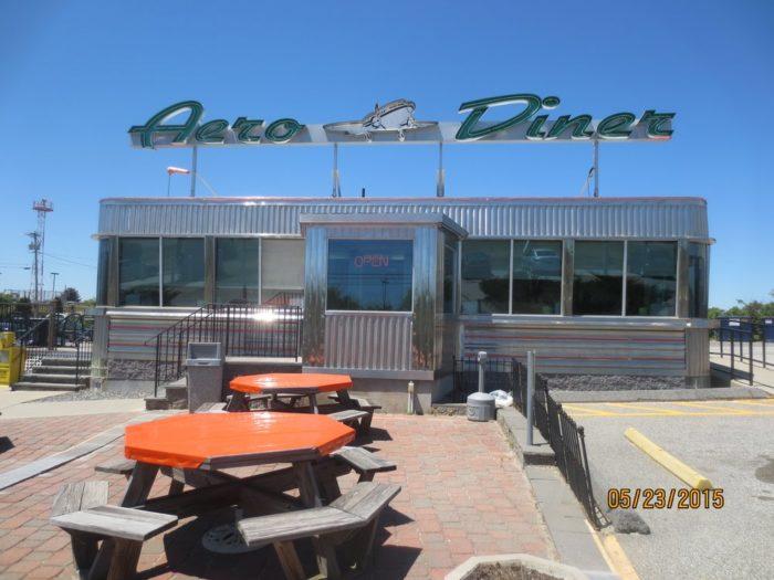 8. Aero Diner (North Windham)