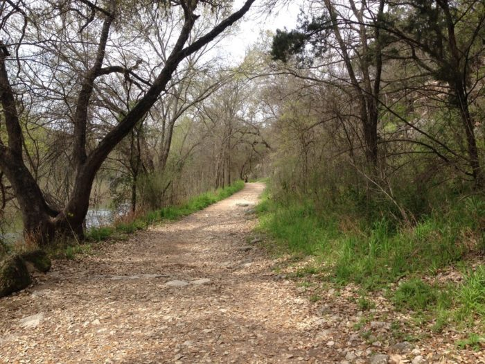 You'll find nearly 13 miles of trails along the Greenbelt.