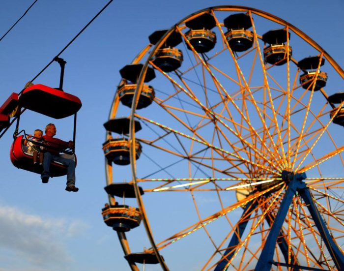 4. You've scheduled your vacation around the Oklahoma State Fair.