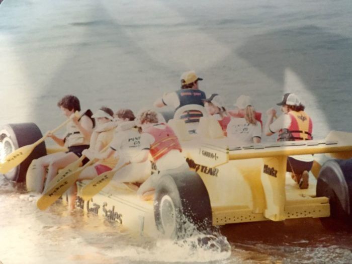 It had over 600 rafts, 4,500 racers and 150,000 cheering spectators.