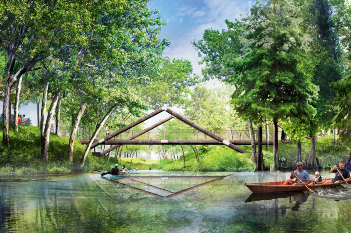 The Pond will provide opportunities for boating, fishing and observing wildlife. It will be a beautiful feature of the park.